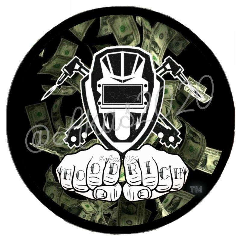 Welder Stickers Union Hard Hat Welding Hood Dollar Bills