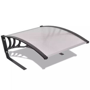 Robot Lawn Mower Garage Roof Canopy Weather Resistant Garden Shade Silver Black
