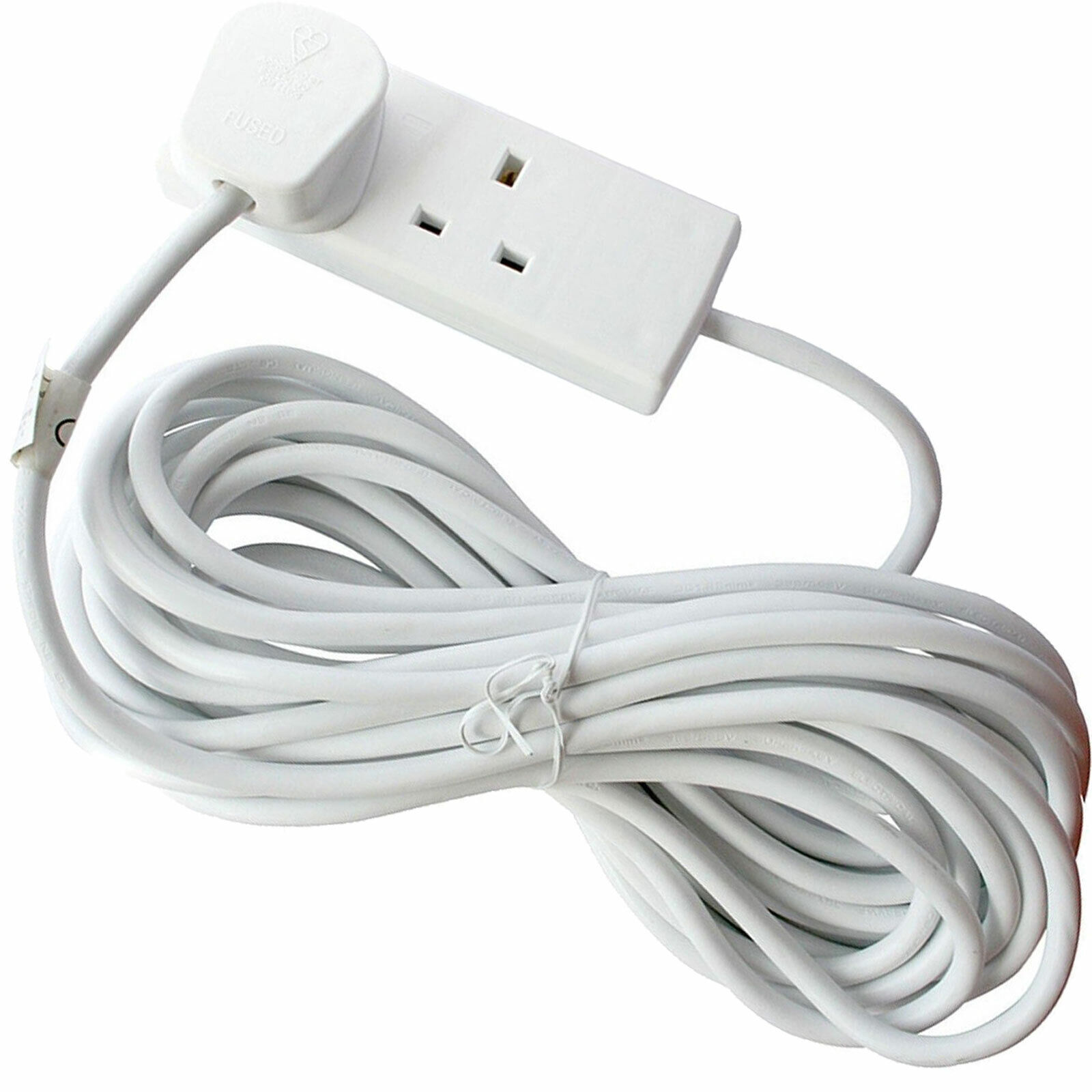 Invero 3 Way Triple Gang UK 3 Pin Multi-Socket Plug Extension Cable Free Mains Adaptor British Approved 13A Black
