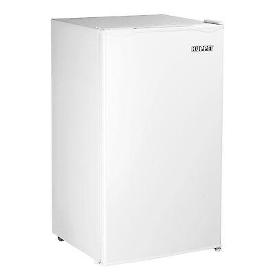 KUPPET 4.6 Cu.Ft. Succinct Refrigerator Mini Dorm Small Fridge Freezer Office