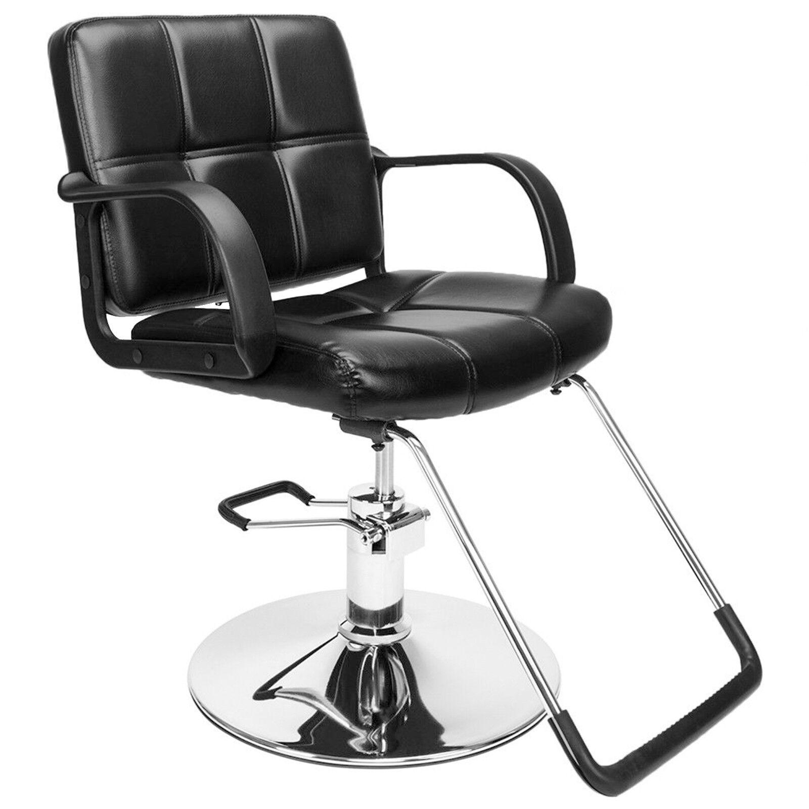 8d92ec3f20 Black Classic Hydraulic Barber Chair Salon Beauty Shampoo Hair ...