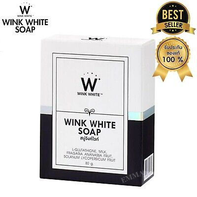 Wink White Soap/best soap/Bleaching the body and face/Whitening Lightening  80 (Best Body Lightening Soap)