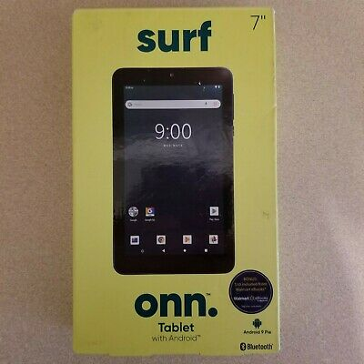 ONN Surf 100005206 7' Tablet 16GB 1GB RAM 1024x600 Android 9.0 Pie, Navy Blue