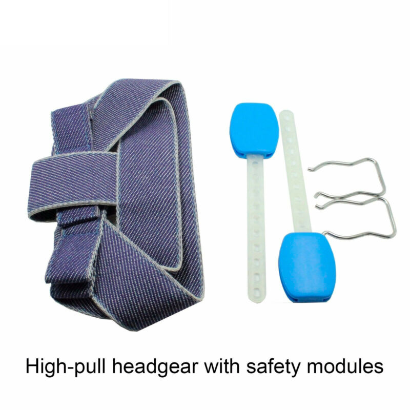 Dental Orthodontic High - Pull Headgear With Safety Modules