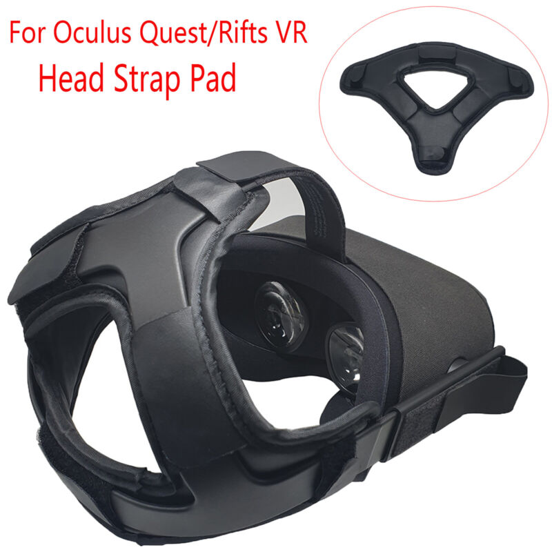 New Leather Head Strap Pad Replacement Headset Cushion For Oculus Quest/Rifts VR
