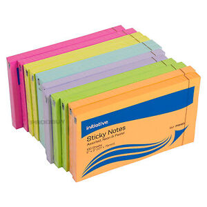 1200 Neon & Pastel Colour Large Sticky Notes 5