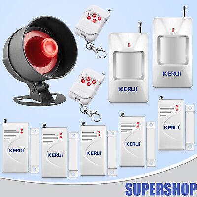 433MHz casa tienda interior Alarma Sirena antirrobo sistema de seguridad