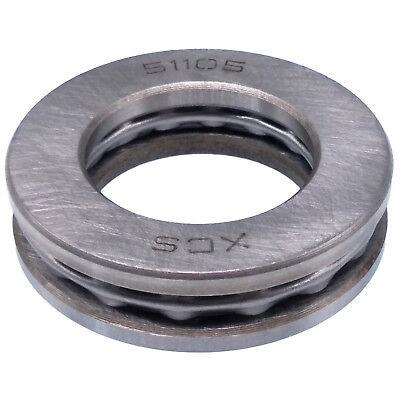 Us Stock 2pcs 25 X 42 X 11mm 51105 Single Direction Thrust Axial Ball Bearings