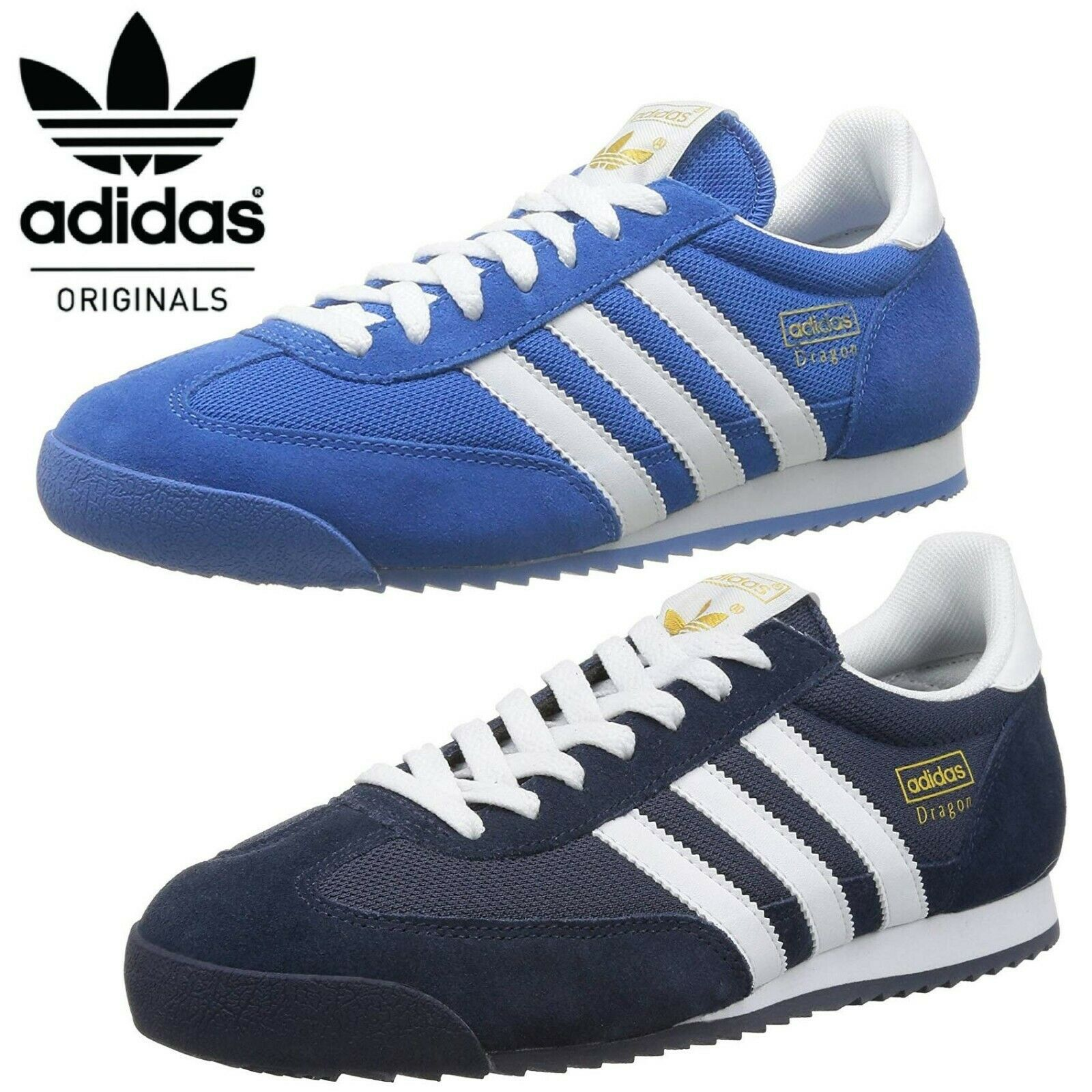 posibilidad Gaviota chasquido  Adidas Originals Dragon Men's Retro Trainers 🔥 FREE UK DELIVERY 🔥 | eBay