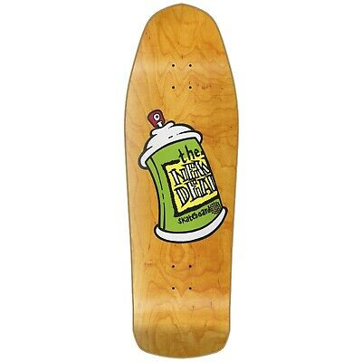 "New Deal Skateboard Deck Spray Can Orange 9.75"" Reissue"