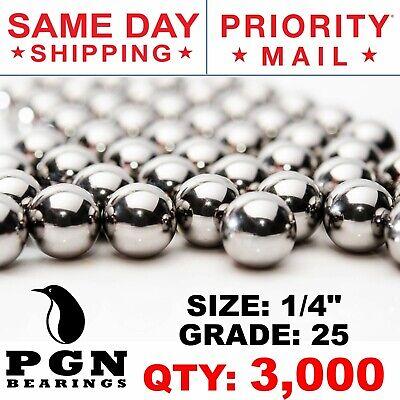 3000 Qty 14 Inch G25 Precision Chrome Steel Bearing Balls Chromium Aisi 52100