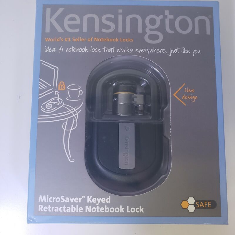 Kensington MicroSaver Keyed Retractable Notebook Lock # 780