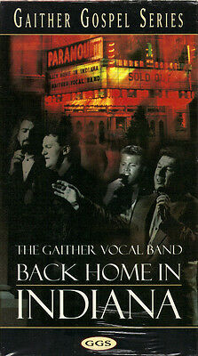 "THE GAITHER VOCAL BAND...""BACK HOME IN INDIANA""......NEW SEALED GOSPEL VHS VIDEO for sale  Las Vegas"