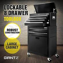 8 Drawers Tool Box Chest Cabinet Castor Trolley Toolbox Melbourne CBD Melbourne City Preview