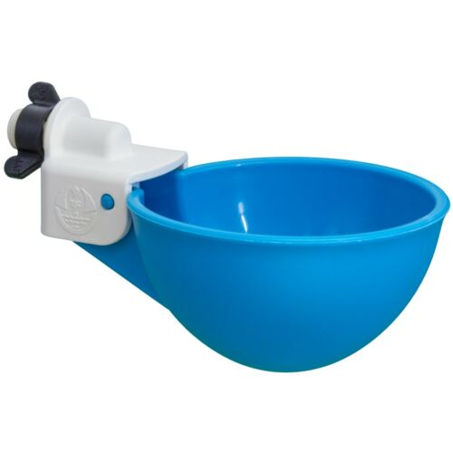 4 Oasis Chicken Watering Cups, Drill Bit Included!, Fully Automatic, No Peck!