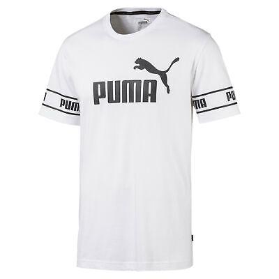 PUMA Men's Amplified Big Logo Tee