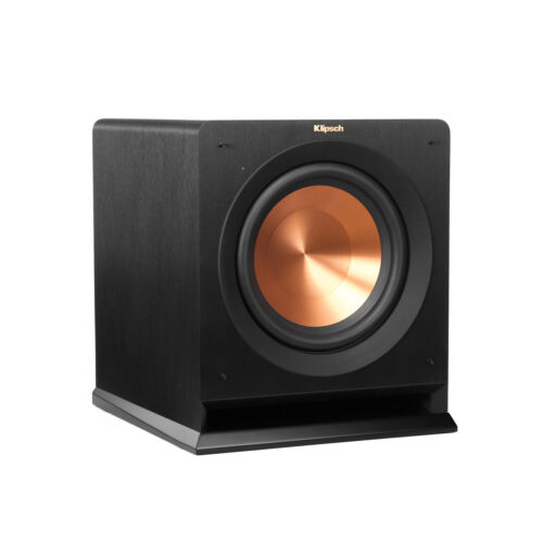 "Klipsch Reference Series 10"" 450W Powered Subwoofer Black R-110SW"