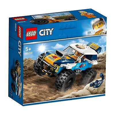 Lego 60218 CITY Desert Rally Racer Toy Car 75 Pieces Released 2019 Age 5+