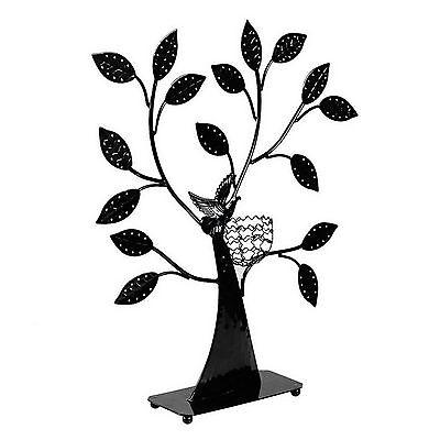 Bird Nest Jewelry Tree Earring Holder Bracelet Necklace Organizer Stand Design