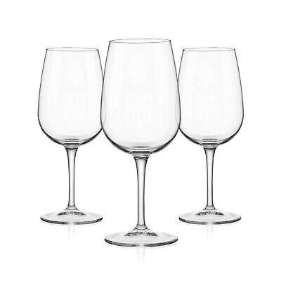 Bormioli Rocco 3x Weinglas Spazio 500ml, Wein-Kelch Weißwein Rotwein, Weinbecher