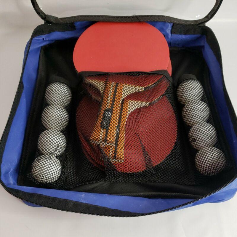 JP WinLook Ping Pong Paddle - 4 Player Pack; Pro Premium Table Tennis Racket Set