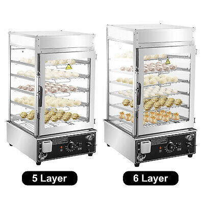 Vevor Commercial Bun Steamer Restaurant Bun Warmer 56 Layers Food Steamer