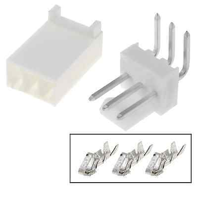 5pcs Molex Connector 3 Pins 90 254mm Tht Mf Arduino Pcb