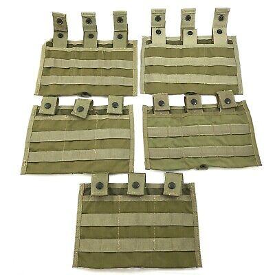 Eagle Industries Triple Shingle Mag Pouch USGI MOLLE Khaki SFLCS, 5 PACK