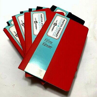 Martha Stewart Home Office Notebooks 5.5 X 8.5 Lot Of 11