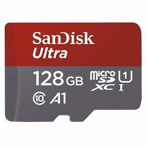 128GB Ultra Microsdxc UHS I Memory Card W Adapter C10 U1 Ful