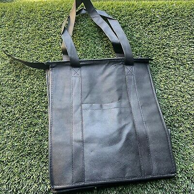 Doordash Ubereats Postmates Insulated Food Delivery Bag With Zipper New