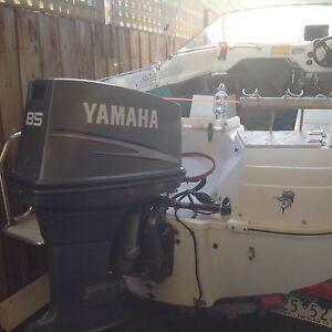 Outboard motor yamaha 85 hp cv Laverton Wyndham Area Preview