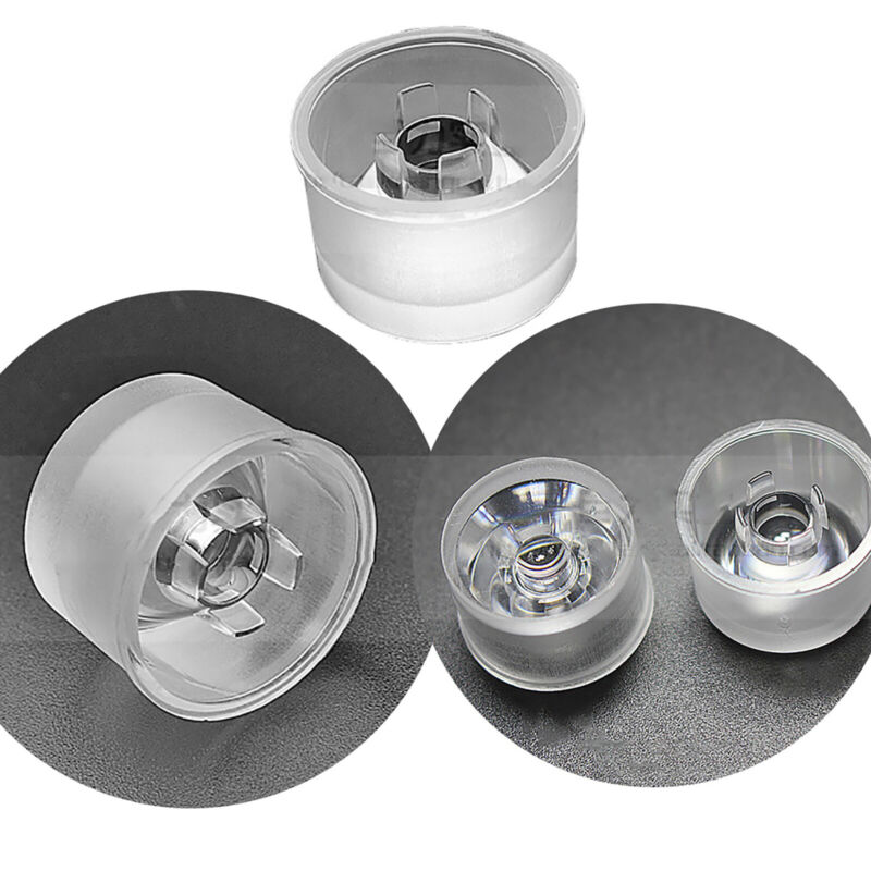 8 15 30 45 60 90 120°PMMA LED Lens Reflector For 1W 2W 3W 4W 5W LED Flood Light