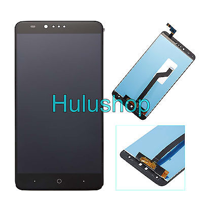 Black LCD Screen + Touch Digitizer Assembly Replacement For ZTE Zmax Pro Z981