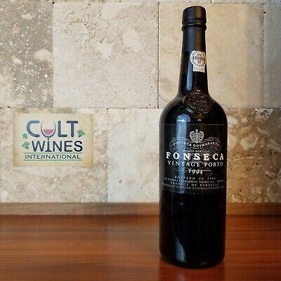 WS 100 pts! 1994 Fonseca Vintage Port wine, Portugal
