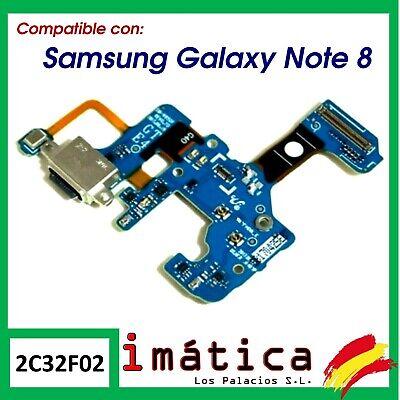 FLEX CONECTOR DE CARGA PARA SAMSUNG GALAXY NOTE 8 AUDIO USB TIPO...