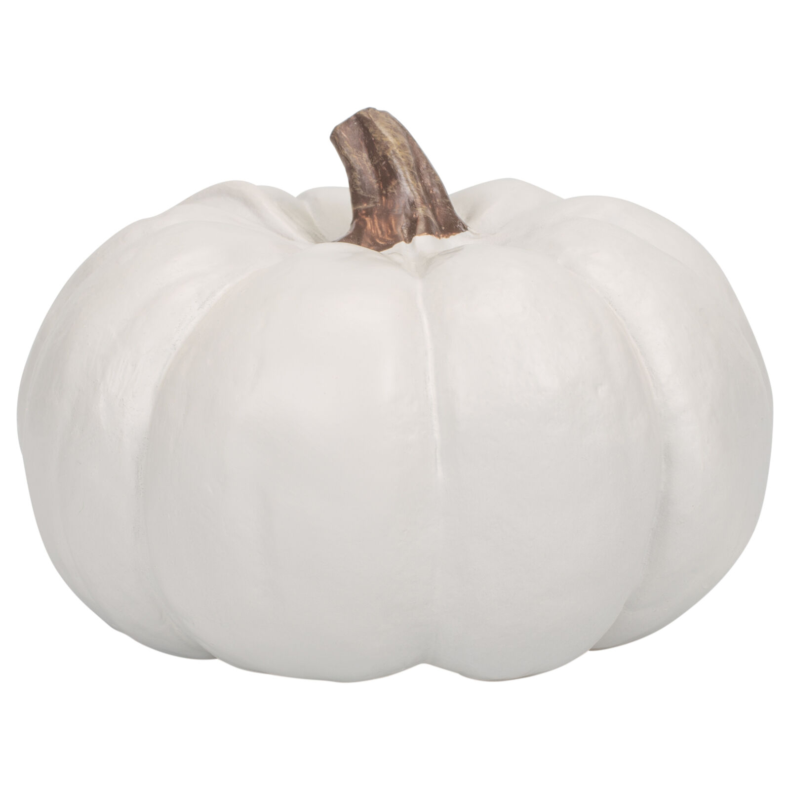 Elanze Designs Classic White 6 inch Resin Harvest Decorative