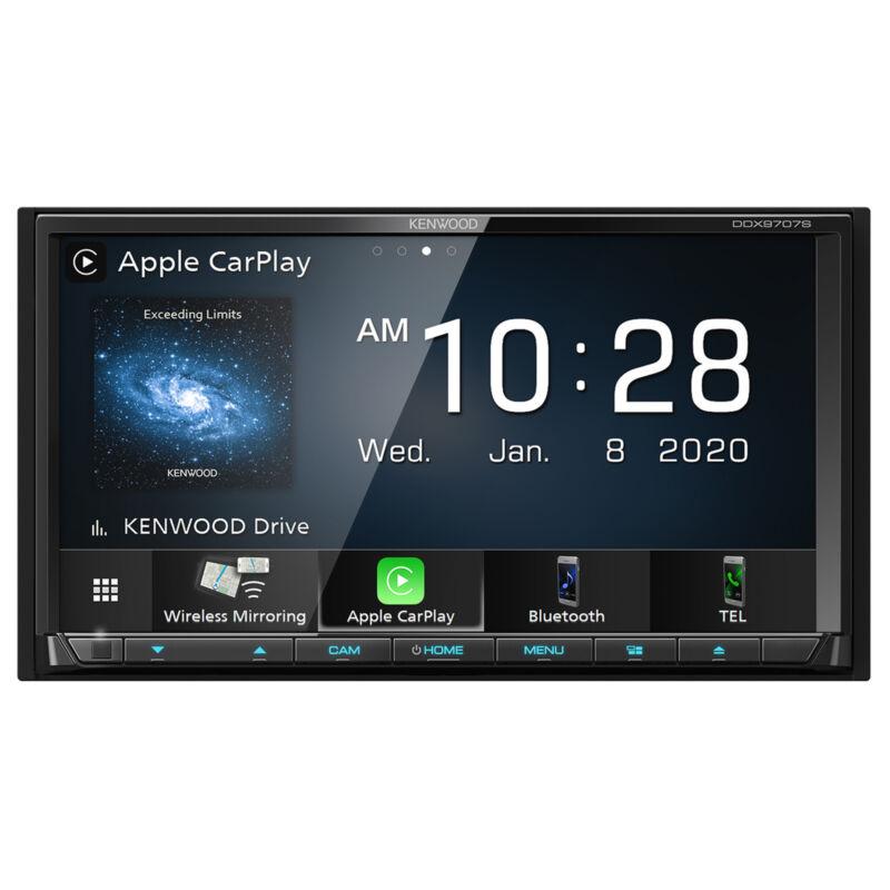 "Kenwood DDX9707S 6.95"" DVD Multimedia Receiver w/ Apple CarPlay"