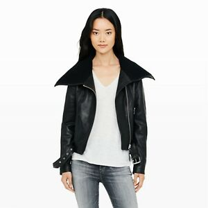 Mackage Leather Jacket - Leah