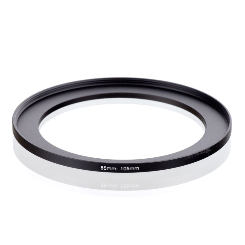 85mm to 105mm 85-105 85-105mm85mm-105mm Stepping Step Up Filter Ring Adapter