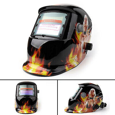 Solar Auto Darkening Welding Helmet Tig Mig Welder Lens Grinding Mask 39 Usa