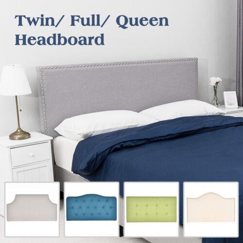 Adjustable Linen Fabric Upholstered Headboard Twin/Full/Quee