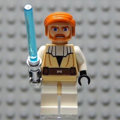 LEGO Star Wars Obi-Wan Kenobi Clone Wars JEDI Minifigure 7676 7753 7931 9525