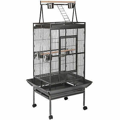 "68"" Large Bird Cage Large Play Top Parrot Finch Cage Macaw Cockatoo Pet Supply"