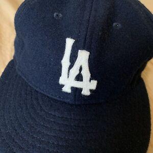 66ed6d0058d9e Ebbets Field BLUE BASEBALL CAP HAT
