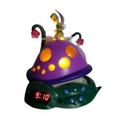 Disney Fairies Tinker Bell & The Lost Treasure Alarm Clock Radio Night Light '09