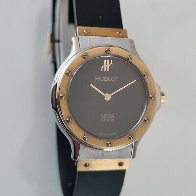 Ladies Hublot MDM Gold and Steel Wristwatch Ref 1280.2
