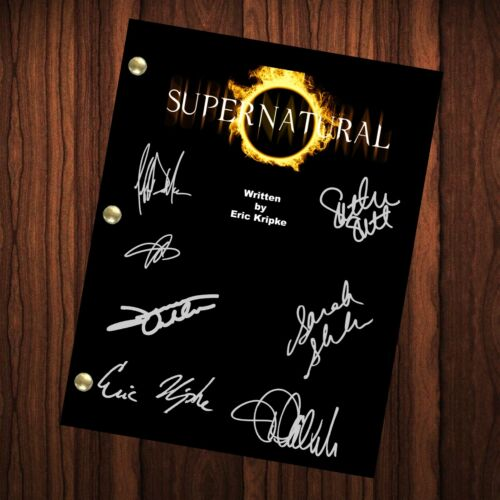 Supernatural Autographed Signed Script Reprint Supernatural