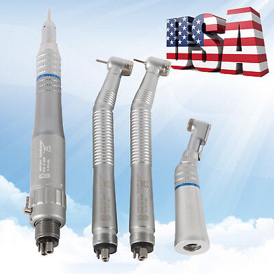 Dental Nsk Style 4 Hole High Low Speed Handpiece Turbines Handpieces Kit Ds6