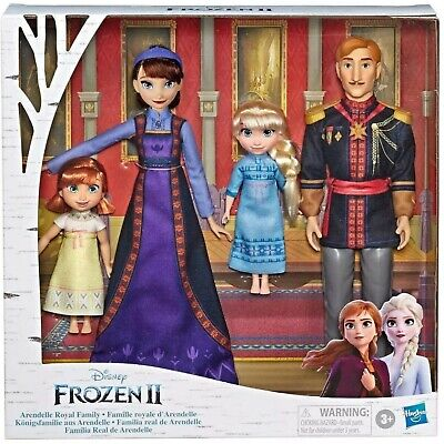 Disney Frozen 2 Arendelle ROYAL FAMILY 4-Doll Exclusive Set NIB/Sealed Anna